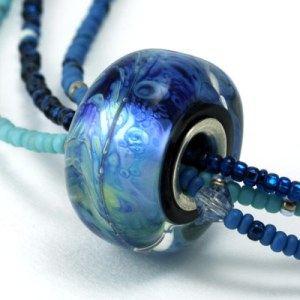 Indigo Sea necklace