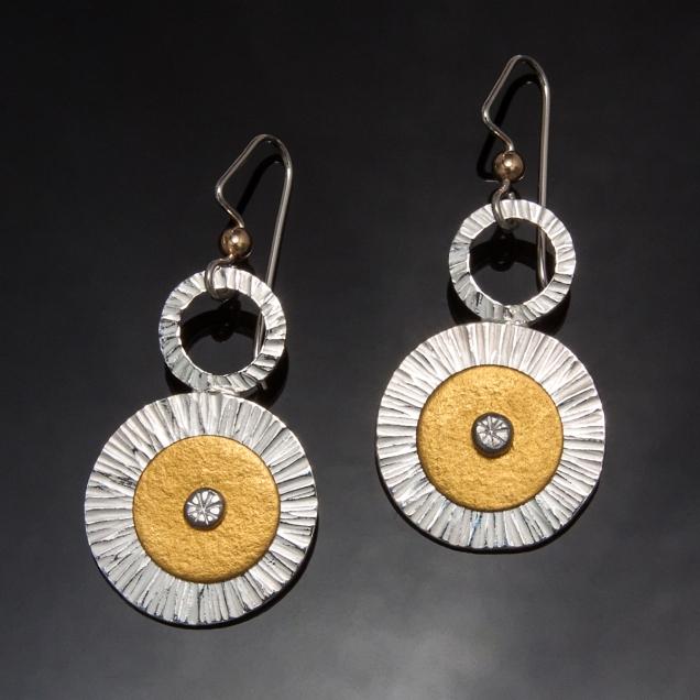 Marigold earrings - Carol Holaday