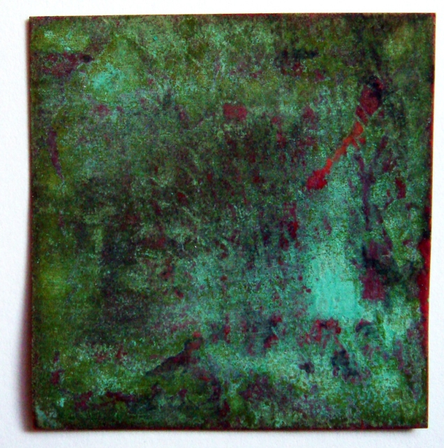 patina on copper